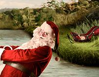 Natal regional - Trenó pela canoa.