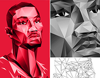 Adidas x NBA Polygon Apparel Graphics