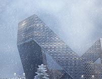 Snow office (business) centre