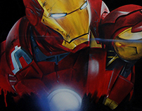 Ironman painting art