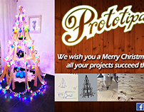 Merry Christmas / Feliz Navidad - DYI tree