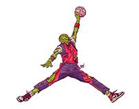 Air Zombie Jordan Logo