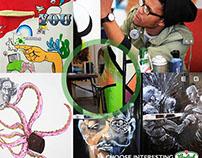Grlosch X SMEG Fridge X Alphabet Zoo X MR LEAN