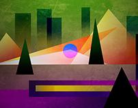 CUBISM NO.2 - illustration used Affinity Designer