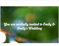 Wedding Promo Website