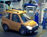 Conect Car 3D