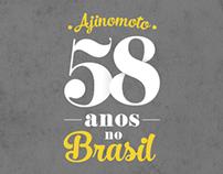 AJINOMOTO - 58 Anos no Brasil