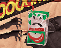 Doomed Juice - Spaghetti Toes Print