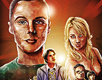 The big bang theory Saison VII - Sur Canal+