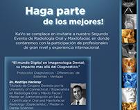 Email marketing evento de radiologia na Colômbia