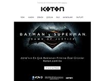 Koton.com email designs 2