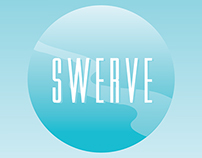Swerve Advertising Postcard