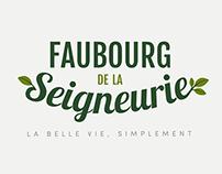 Faubourg de la Seigneurie - Logo