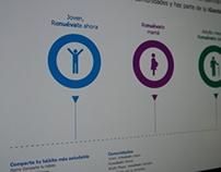 Renuévate, Diseño Web