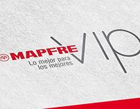Identidad Gráfica Mapfre VIP