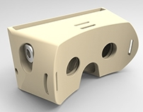 Ergonomic 3D Printed Virtual Reality Headset