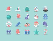 (FREE!!) Christmas Icons 2015