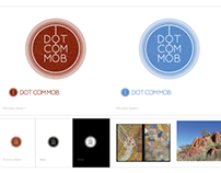 Dot com mob logo design