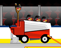 Angry Birds level up contest NHL design