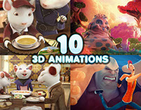 10 Best 3D Animation Short Films, TVC and Characters