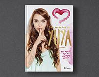 Editorial design for the book Los secretos de Yuya