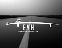 EYH engineering and construction Branding