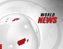World News Opener (Experiment VizRt 3.7)