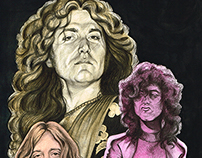 """Led Zeppelin"" for Rolling Stone Spain"