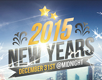 New Years - Flyer