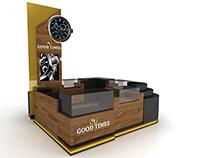 Good Times Kiosk 3x3m