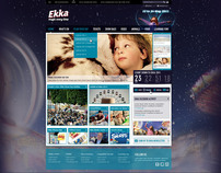 Ekka website design