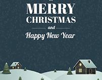 Merry Christmas card 2014