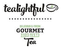 Tealightful - Tea packaging/branding