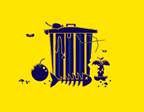 Motion Graphics : Solid Waste condition in Palestine