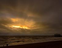 A Brighton sunset