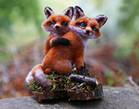 Fox Couple