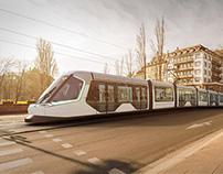 Alstom Citadis Tramway Strasbourg - CGI Images