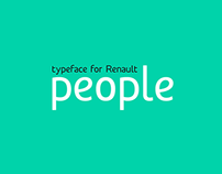 People typeface - 2013