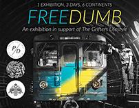 Freedumb Graffiti Exhibition
