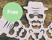 Free Heisenberg Snowflake - Breaking Bad