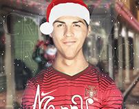 Cristiano Ronaldo (Christmas Art)