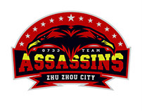 Z.Z.C ASSASSINS team logo design