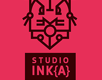 Logo for Tattoo Studio Inka (fiktive shortwork)