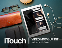 iTouch | video Mock-Up kit