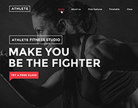 Athlete - Fitness and Sport Template