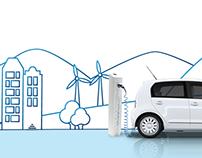 Volkswagen e-BlueMotion concept
