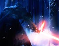 Kylo Ren | Star Wars: The force Awakens | FanArt