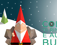 Illustration and graphic: Christmas card by ColHub
