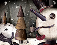 Cavalcade of client Christmas cards