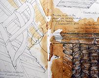 Architecture School - ST. Fagans field-trip study.